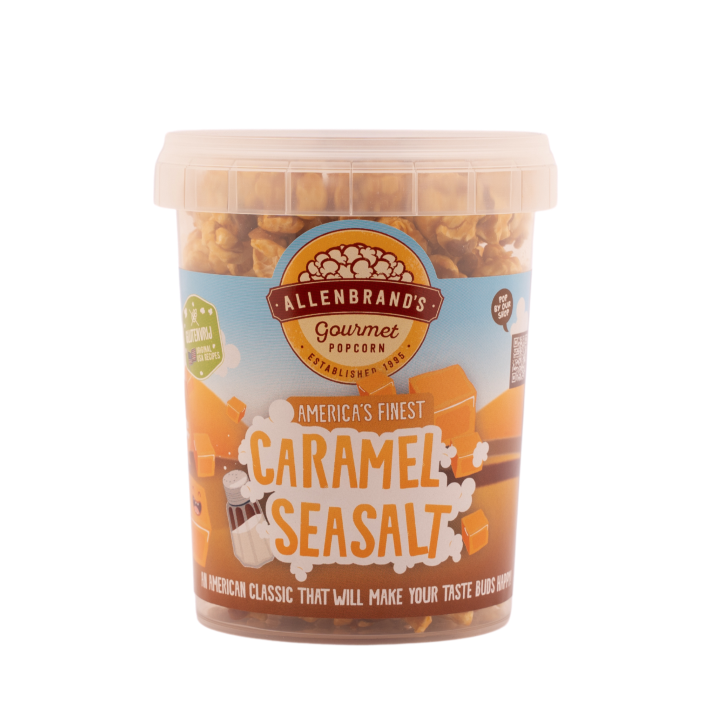 Caramel Sea Salt: An American classic that will make your taste buds happy!