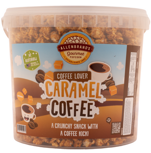 Caramel Coffee: A crunchy snack with a coffee kick