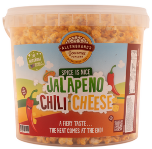 Jalapeno Chili Cheese: A fiery taste... the heat comes at the end!