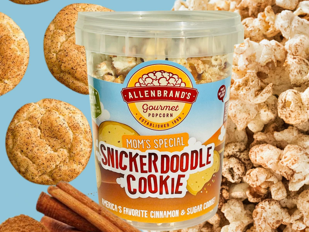 Snickerdoodle Cookie: America's favorite cinnamon and sugar cookie.