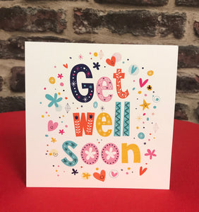 """Get Well Soon"" Kaartje"