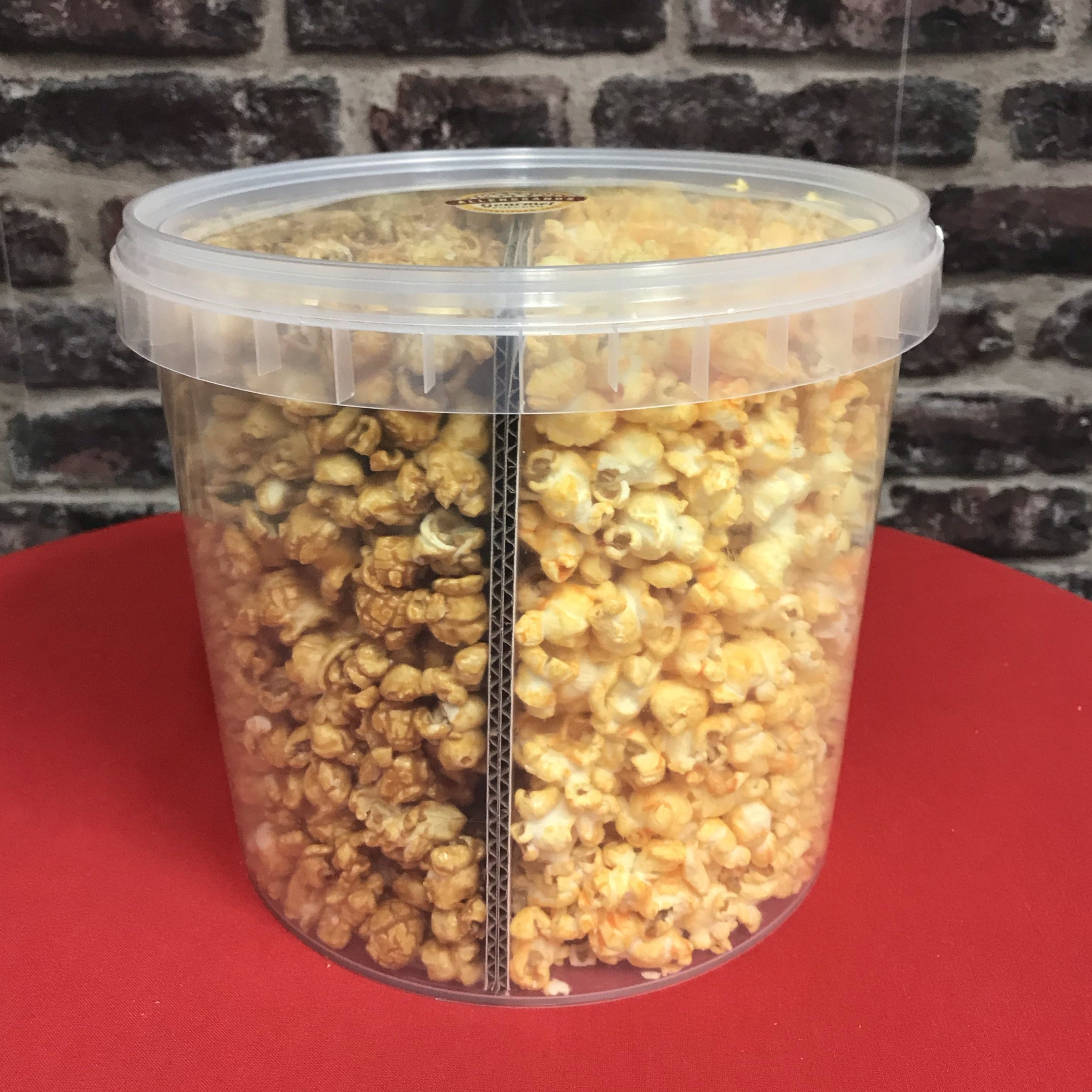 5500ml Chicago Mix (Caramel&Cheese) Bucket