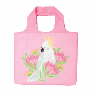 Shopping Tote – Hello Cockie Cockatoo - Pink