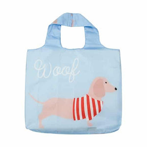 Shopping Tote – Dachshund – Blue