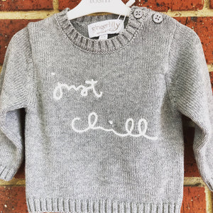 SALE! Gingerlilly Baby Jumper - Just Chill Grey