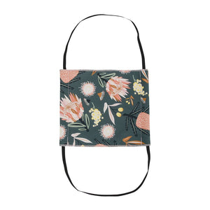 Fabric Face Mask - Khaki Floral