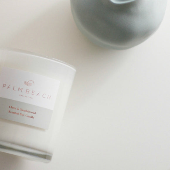 Palm Beach Clove and Sandalwood Candle