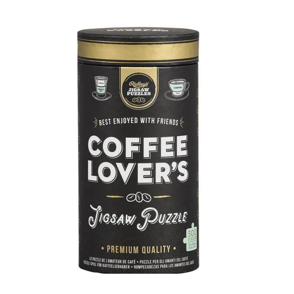 Jigsaw Puzzle - Coffee Lover's