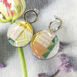 Geo Pattern earrings