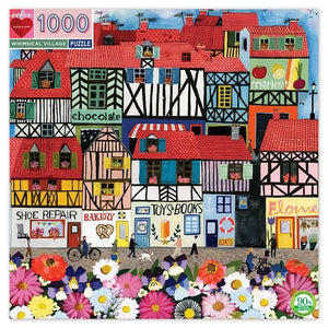 Jigsaw Puzzle - Whimsical Village