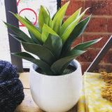 Agave Potted Artificial Plant