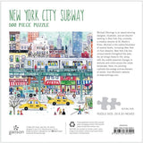 Jigsaw Puzzle - New York City Subway