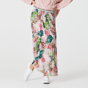 Zigi Stardust Pleat Skirt - Hydrangea