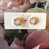 Porcelain Stud earrings