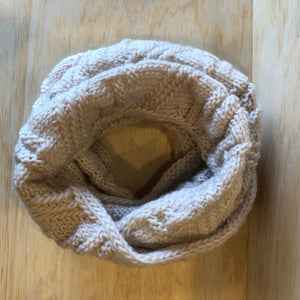 Knit Scarf - Cream