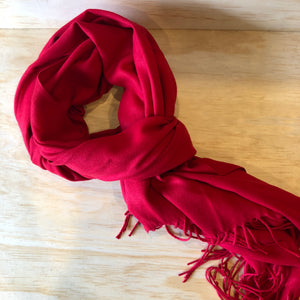 Super Soft Scarf - Red
