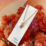 Sterling Silver Initial necklaces