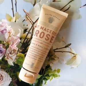 Maine Beach Mt Macedon Rose Hand & Nail Cream