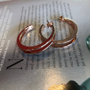 Split Hoop Large earrings