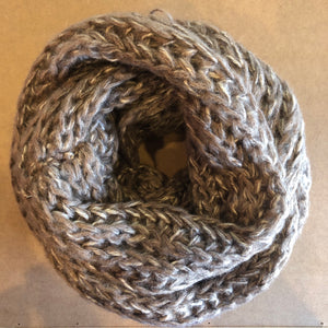 SALE! Knit Scarf - Latte