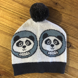 SALE! Indus Design Cotton Knit Baby Beanie - Panda