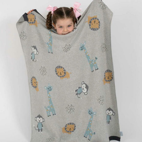Jungle Animals Blanket