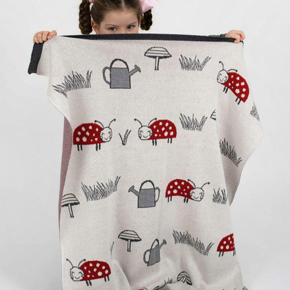 Lady Bug Blanket