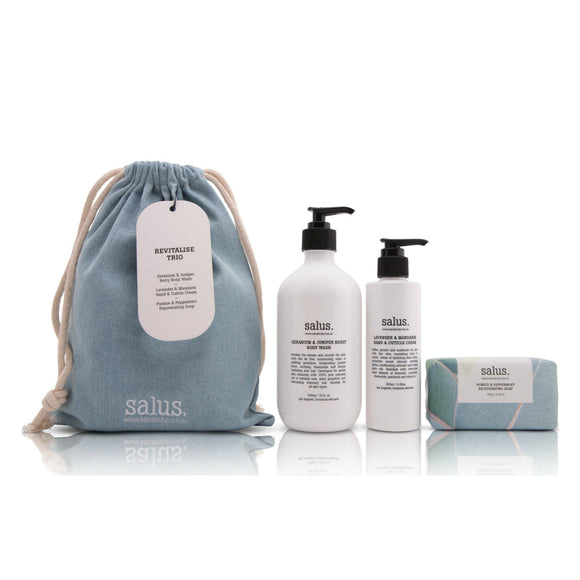 CHRISTMAS VALUE PACK Salus Body Revitalise Trio