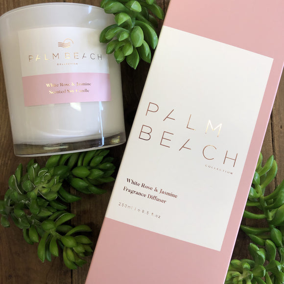 Palm Beach White Rose & Jasmine Diffuser