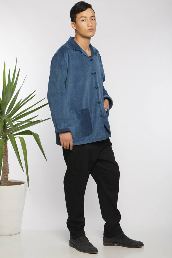 Pantalon bouffant en denim