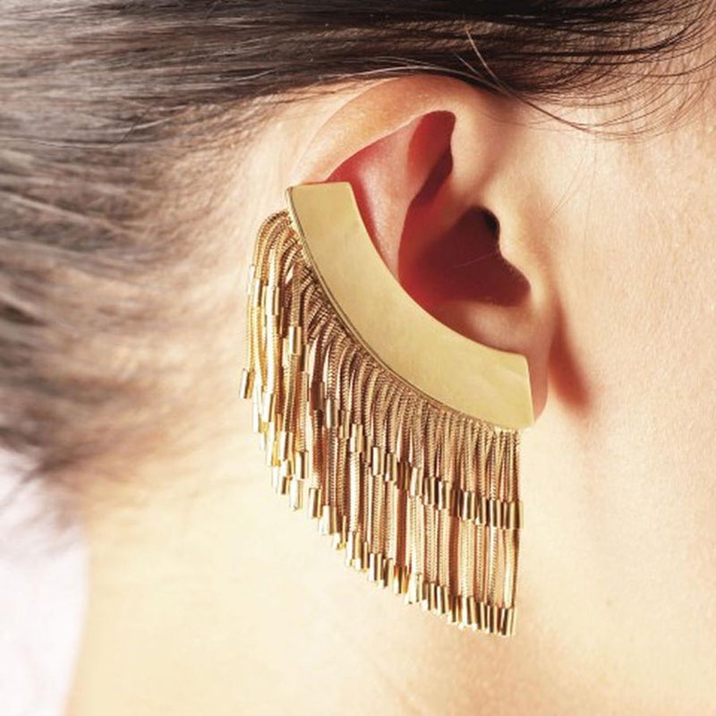FRINGE - Right Earring