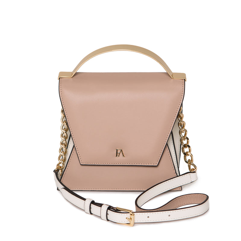 Mini Sac cartable en cuir