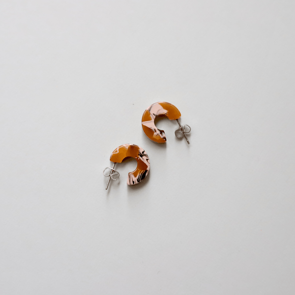 Mini Daisy Earrings by NAT + NOOR - COMMON DEAR