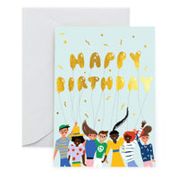 Tomodachi (Friends) Greeting Card by Carolyn Suzuki - COMMON DEAR