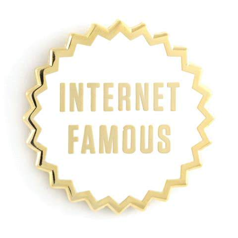 Internet Famous Enamel Pin by These Are Things - COMMON DEAR