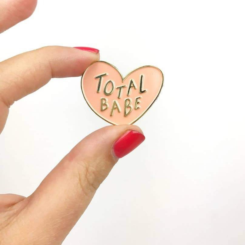 Total Babe Enamel Pin by Craft Boner - COMMON DEAR