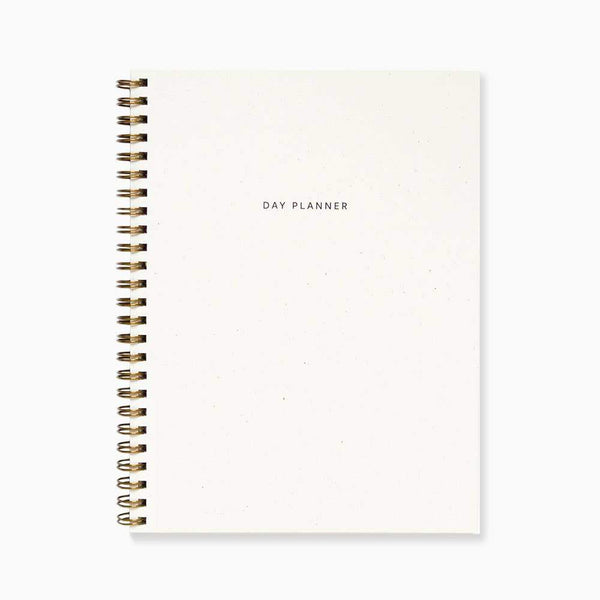 Minimal Day Planner - Sand by Evermore Paper Co. - COMMON DEAR