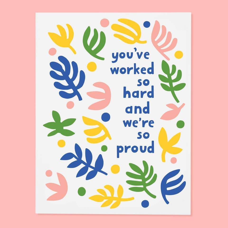 Worked So Hard Greeting Card by The Good Twin - COMMON DEAR