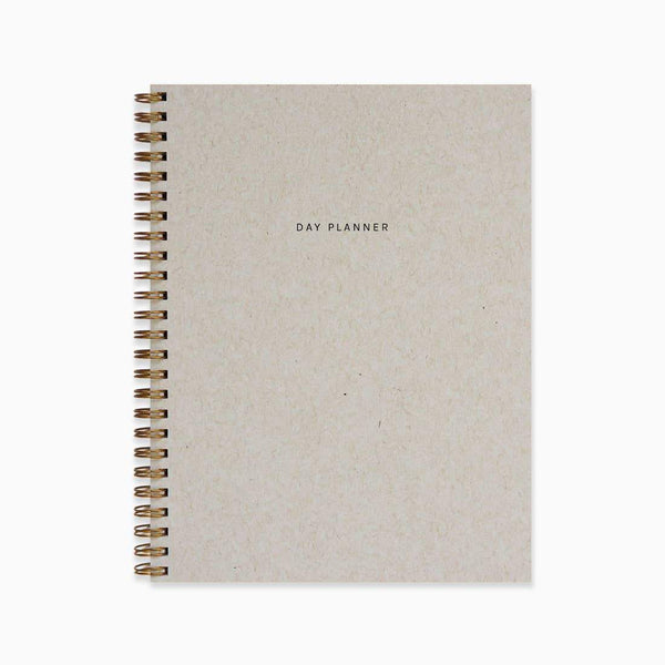 Minimal Day Planner - Stone by Evermore Paper Co. - COMMON DEAR