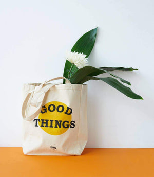 Good Things Tote Bag by Grl & co. - COMMON DEAR