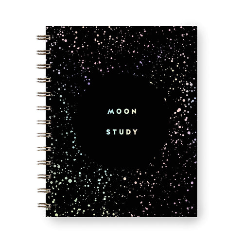 MOON STUDY: Your simple moon phase reflection journal by Worthwhile Paper - COMMON DEAR