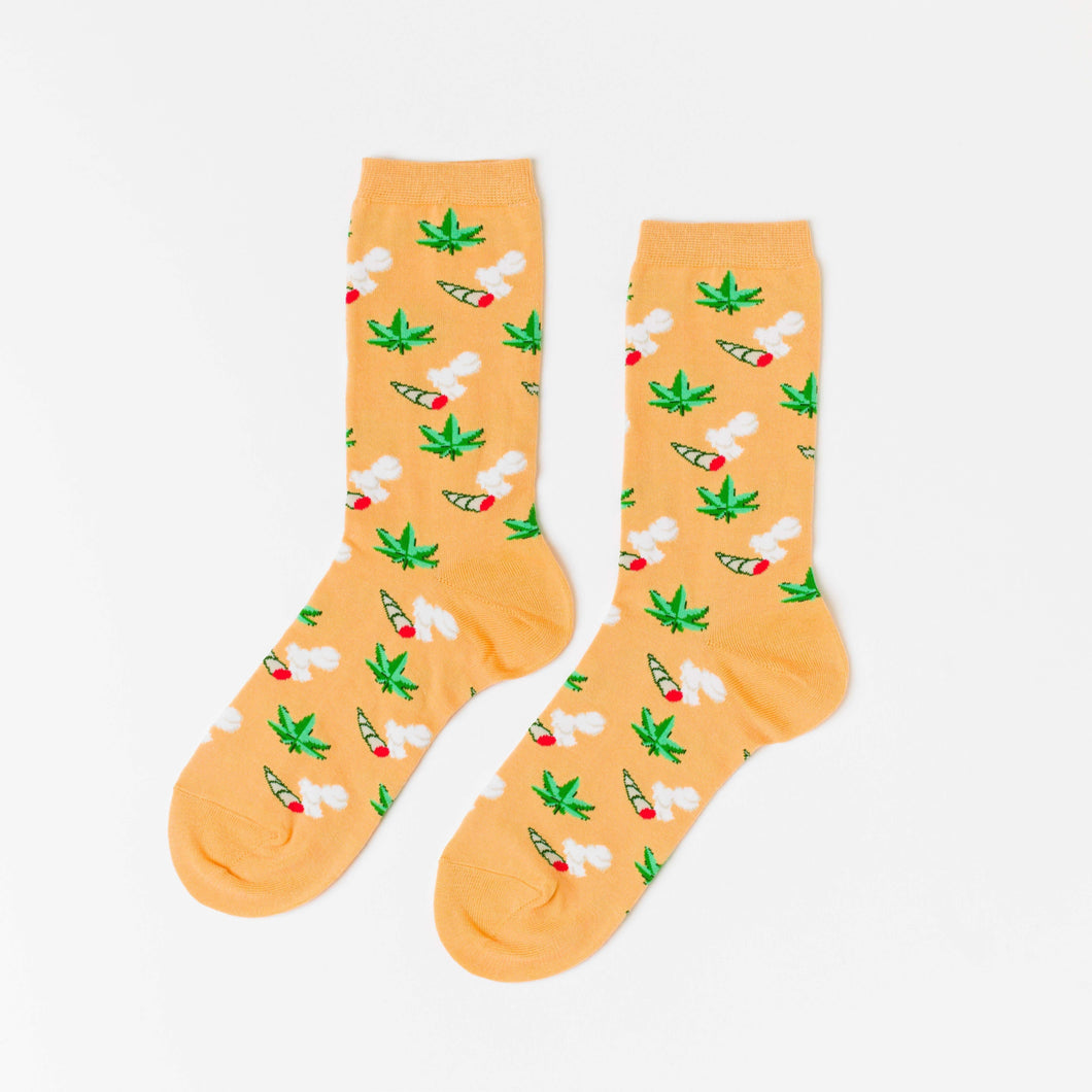 Weed Women's Crew Socks - Common Dear