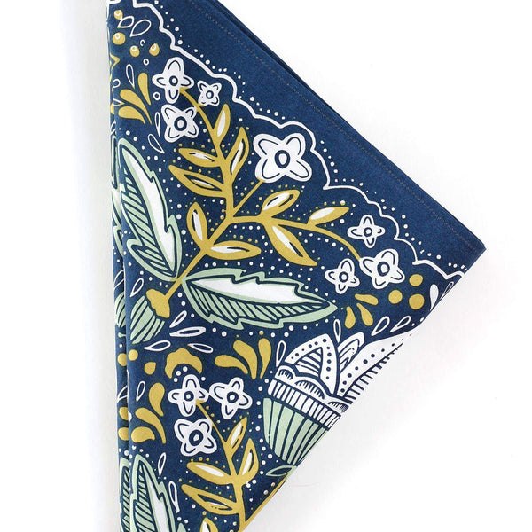 Amelia Premium Cotton Handmade Bandana by Hemlock - COMMON DEAR