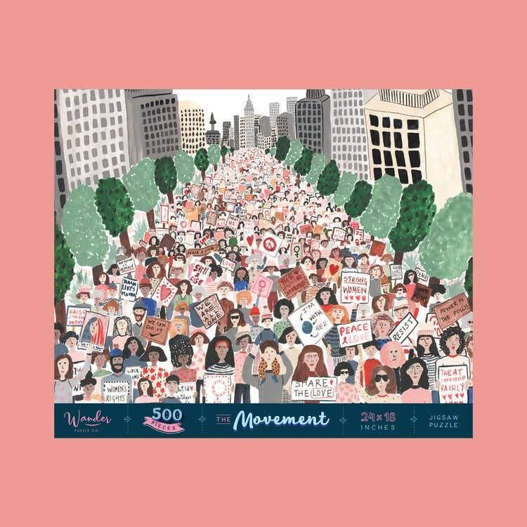 The Movement Jigsaw Puzzle - Common Dear