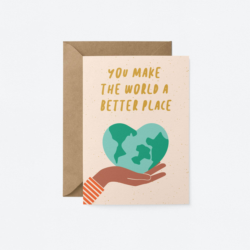 Better Place Greeting Card