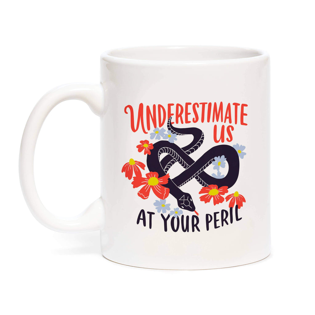 Underestimate Us Mug by Emily McDowell & Friends - COMMON DEAR
