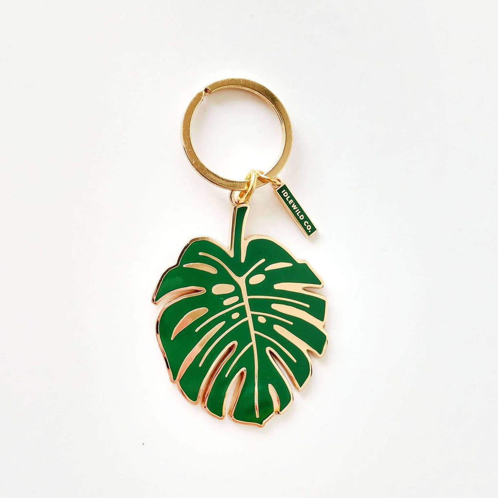 Monstera Keychain by Idlewild - COMMON DEAR