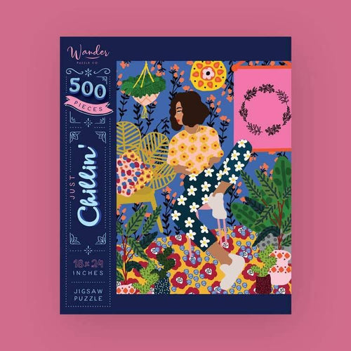 Just Chillin' Jigsaw Puzzle - Common Dear