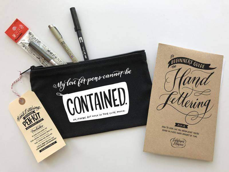 Hand Lettering Kit by Ladyfingers Letterpress - COMMON DEAR