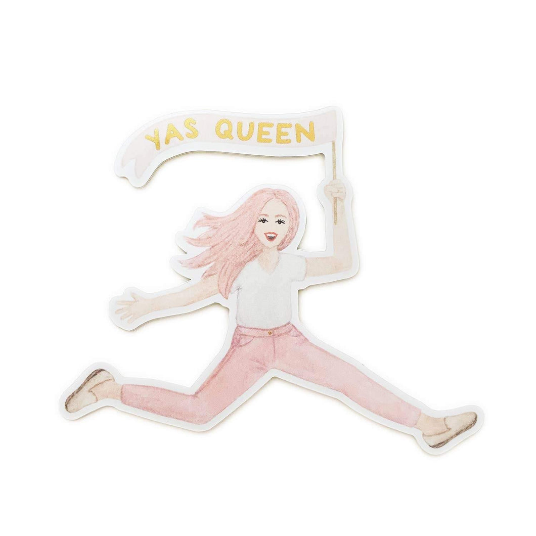 Yas Queen Pink Lady Sticker, Light Skin by Amy Zhang - COMMON DEAR
